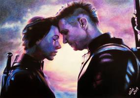 Natasha Romanoff | Clint Barton | AVENGERS ENDGAME