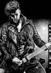 Per Bergquist | SMASH INTO PIECES | Guitars
