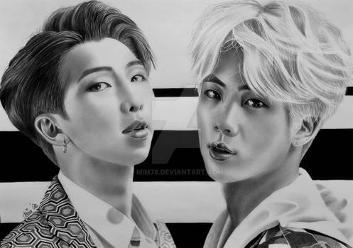 Namjin | Namjoon and Jin | BTS | Kpop