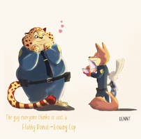 Zootopia : Have a Donut ! by sheep7465