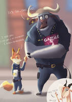 Zootopia : I Know Everybody by sheep7465