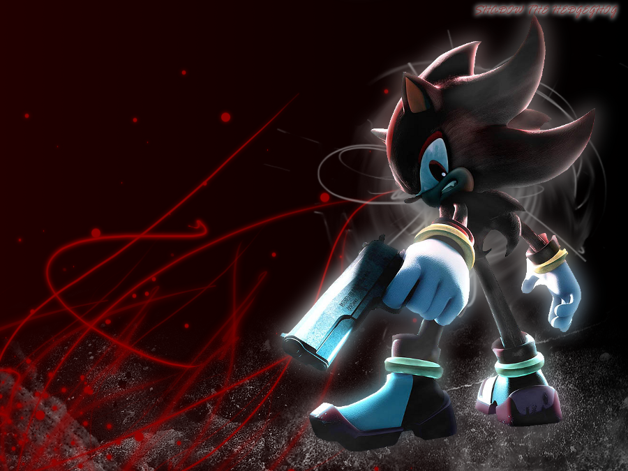 Shadow The Hedgehog Wallpaper by JA-Renders on DeviantArt