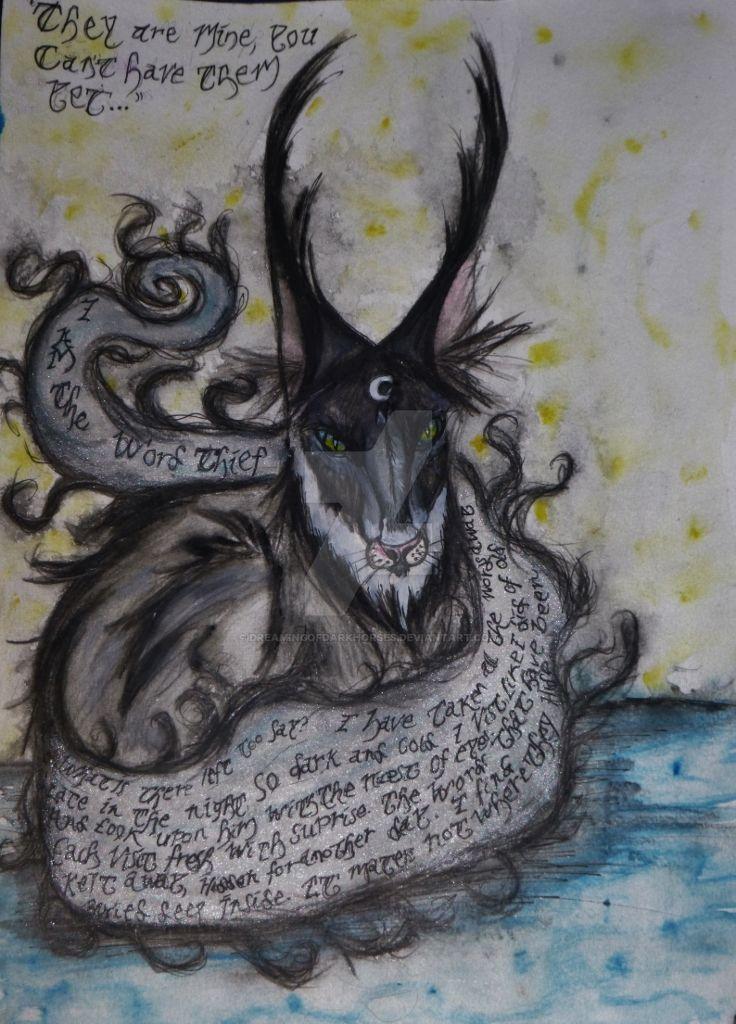 The Word Thief by DreamingofDarkhorses