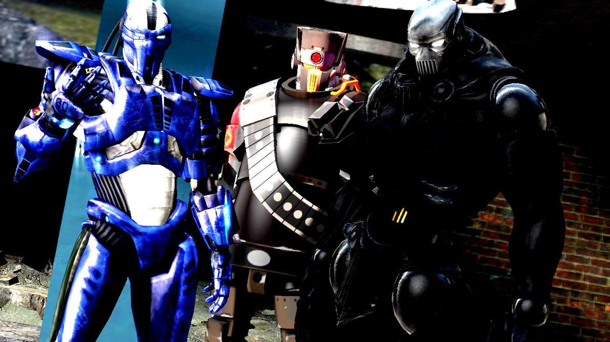 Robots by dumbass333