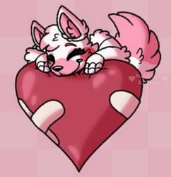 heart pillow - [fnaf]