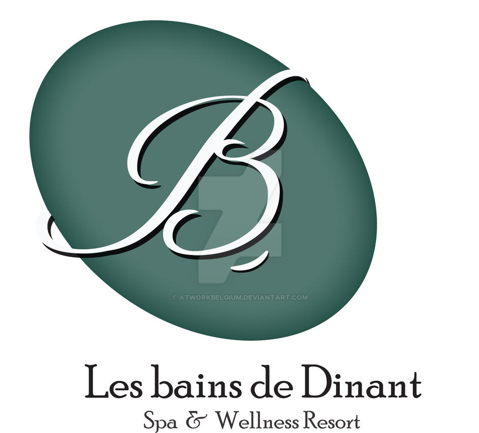 Logo Design - les Bains De Dinant by atworkbelgium on DeviantArt