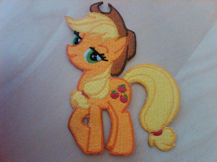 Applejack Patch by EthePony