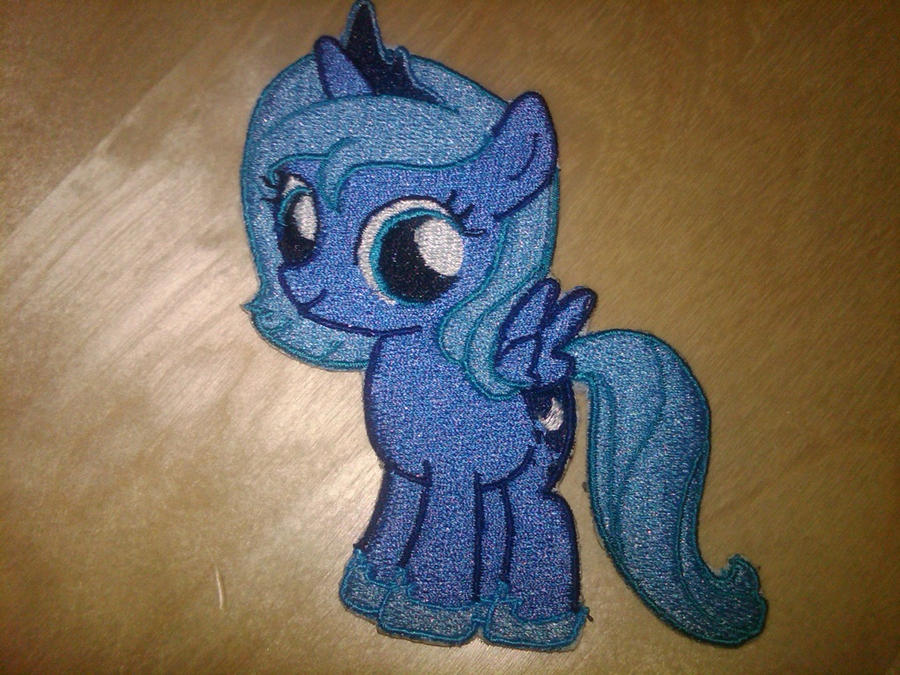 Princess Luna Filly Patch by EthePony