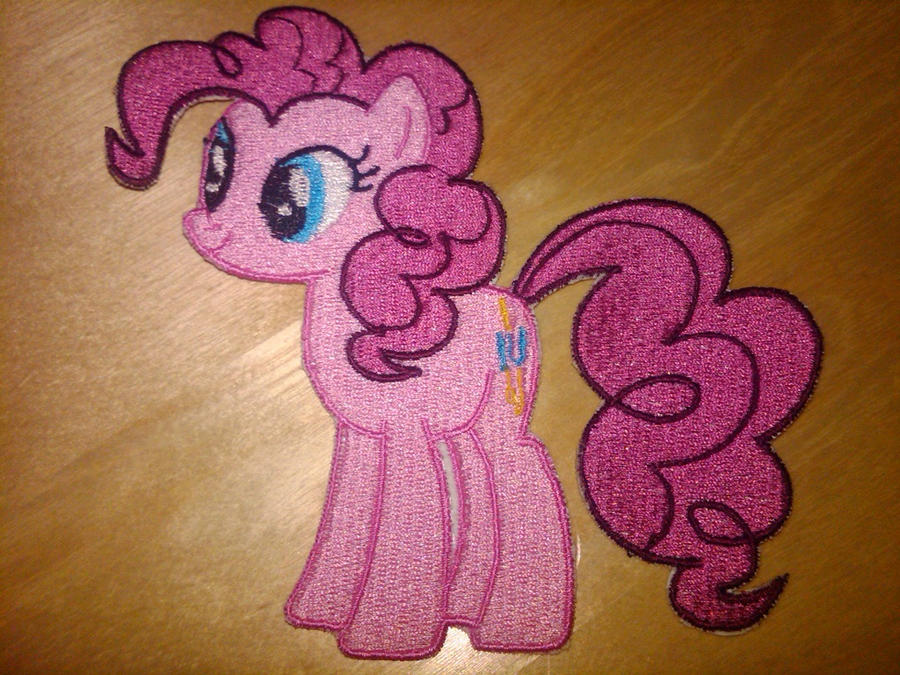 Pinkie Pie Embroidery by EthePony