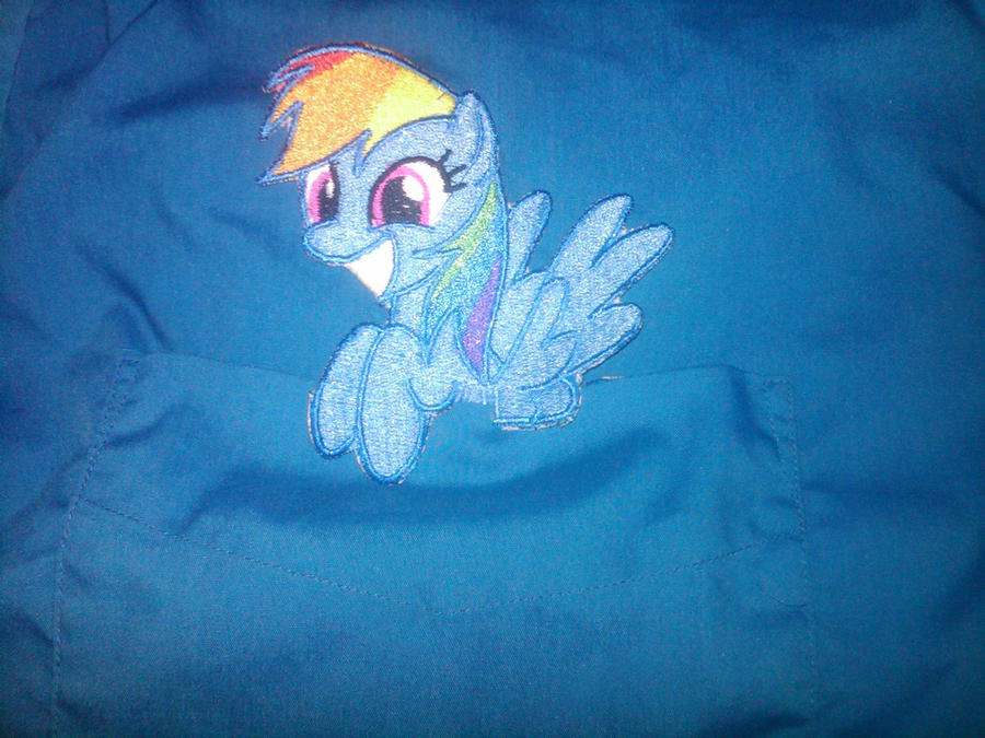 Rainbow Dash Pocket Pony by EthePony