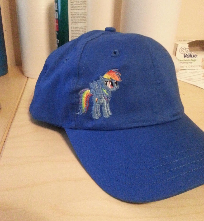 Rainbow Dash Hat by EthePony