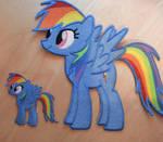 12 Inch Rainbow Dash