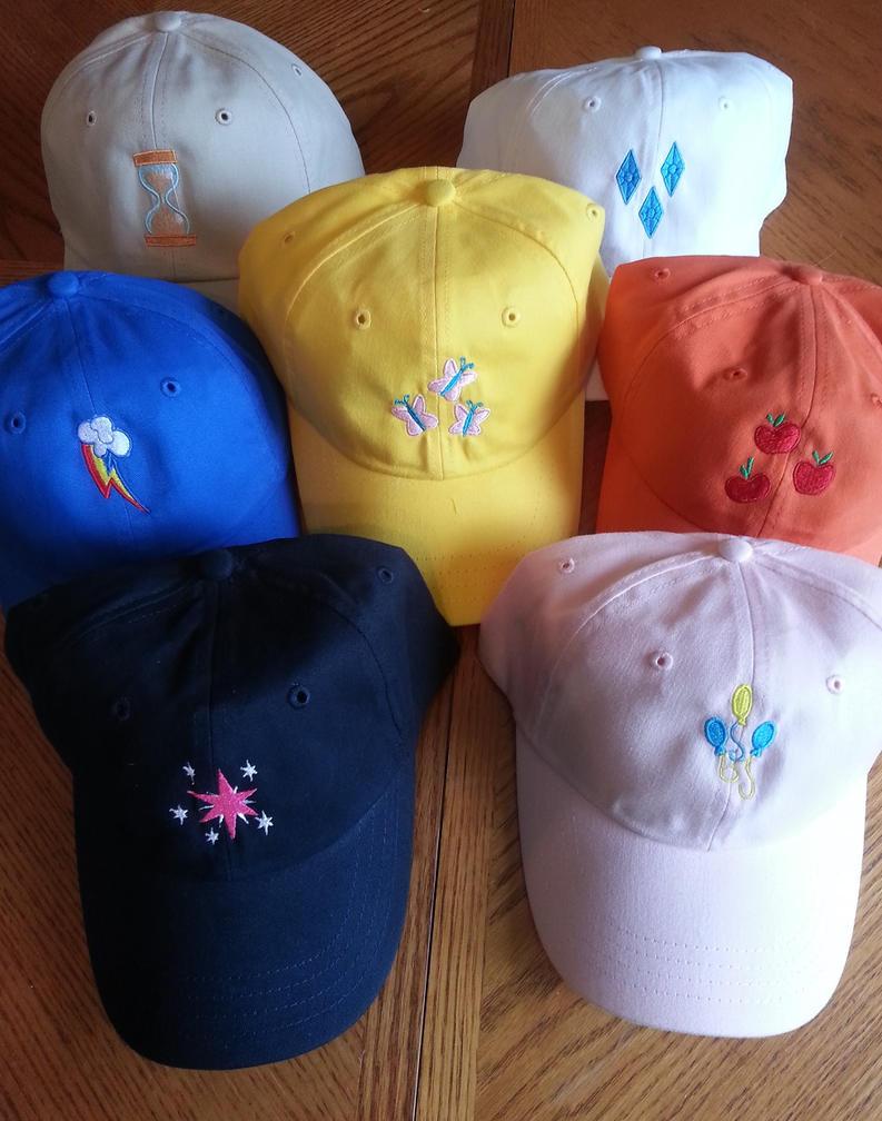 Cutie Mark Hats by EthePony