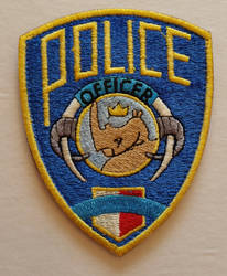 Zootopia Police Patch