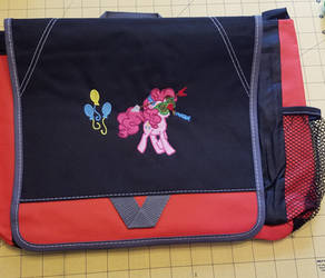 Pinkie Toot Embroidered Bag