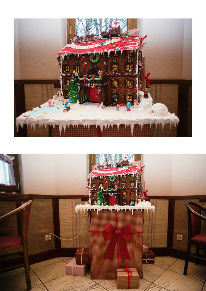 gingerbread house by wigur