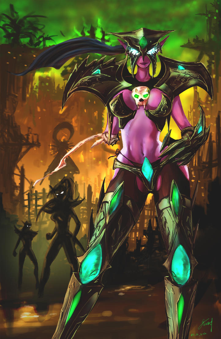 Maiev Shadowsong Maiev_Shadowsong_by_Hitchlee