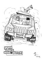 Life is strange with Grand Theft Auto by Hitchlee