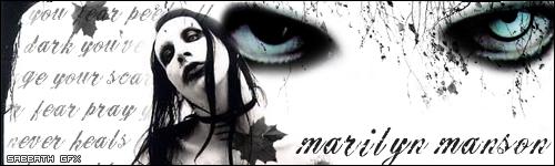 Marilyn Manson by WhiteVansAndCandy