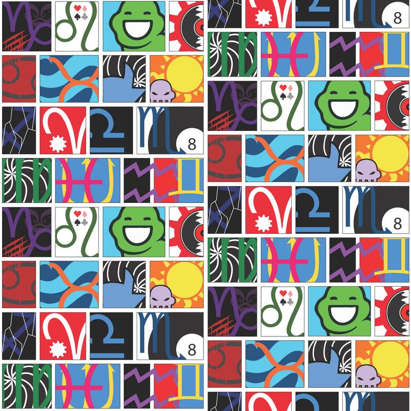 Homestuck Fabric Pattern by BeyondTherapy