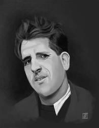 Portrait 1 - Mervyn Peake by Imaginata