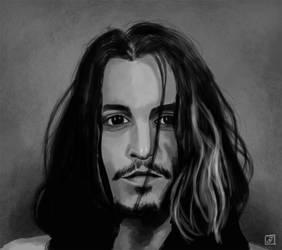 Portrait 2 - Johnny Depp by Imaginata