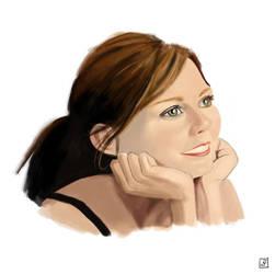 Portrait 4 - Kirsten by Imaginata