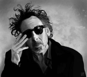 Portrait 7 - Tim Burton by Imaginata