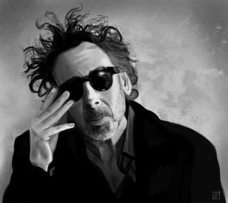 Portrait 7 - Tim Burton