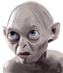 Portrait 9 - Gollum by Imaginata