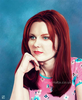 Portrait 10 - Kirsten Dunst (Mary Jane)