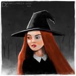 Drawlloween 2020 - Day 1 - Witch
