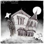 Drawlloween 2020 - Day 3 - Haunted House