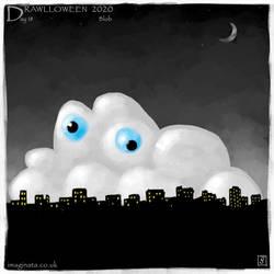 Drawlloween 2020 - Day 18 - Blob