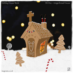 3. Gingerbread House