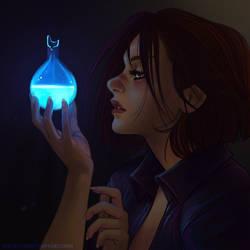 Blood lamp by Ravietta