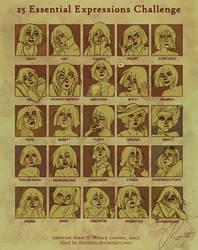 25 expressions challenge - Eriu by Ravietta