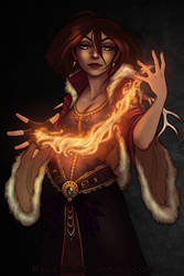 Flames by Ravietta