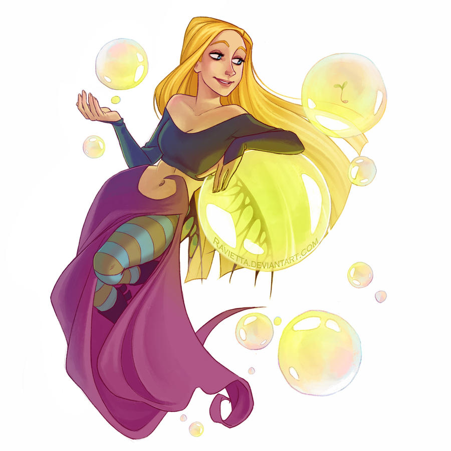 bubbles by Ravietta