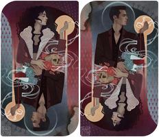 C: Aurora and Raphael by Ravietta