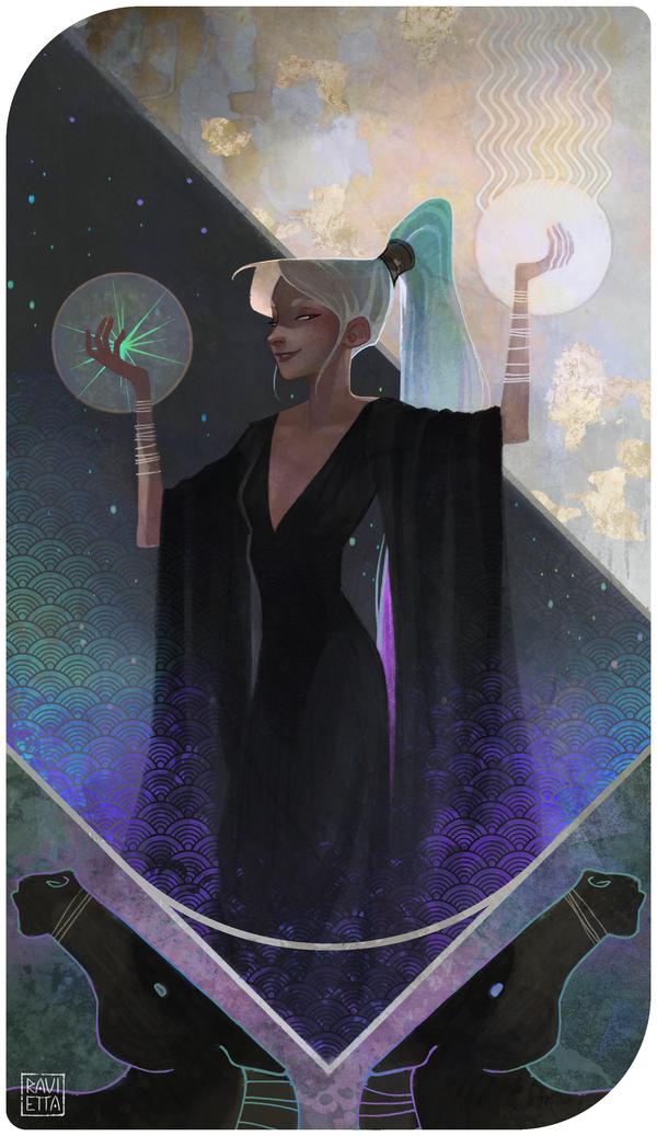 VII: Psychee by Ravietta