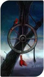X: The Cart Wheel by Ravietta