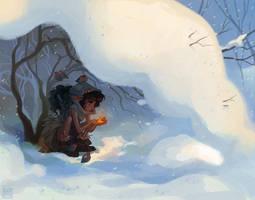 surviving winter by Ravietta