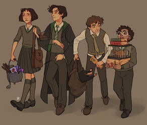 The Slytherin Squad
