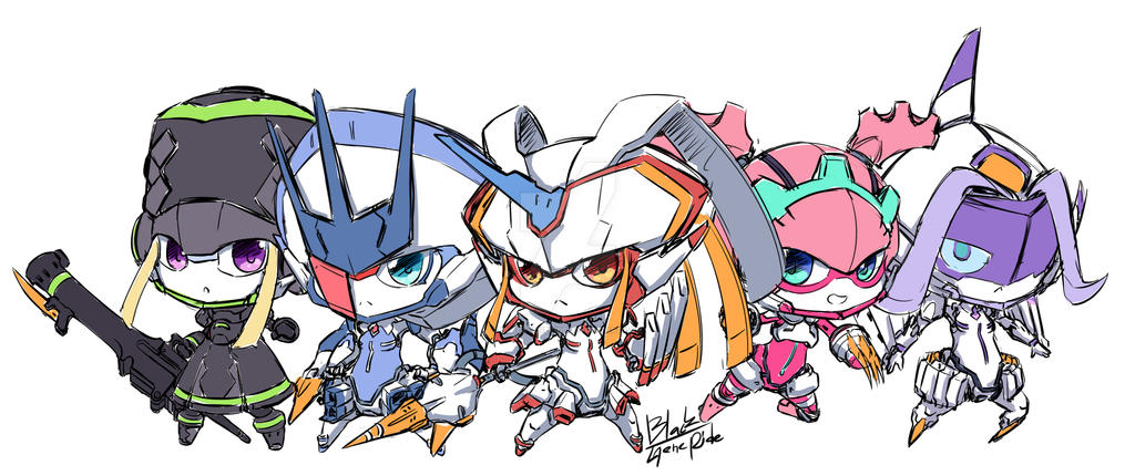 FranXX by BlackGeneride