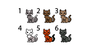 Kitty adoptables by Cute-Adoptabels