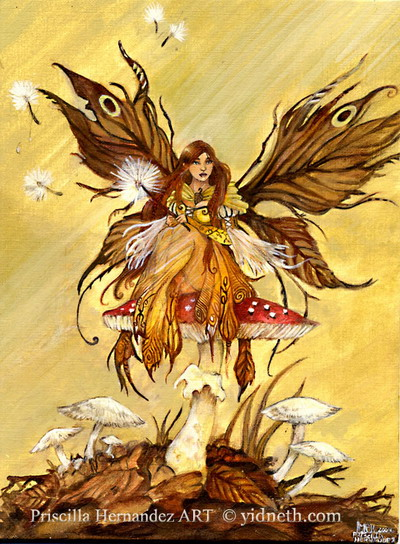 Autumn Fairy By Yidneth On Deviantart