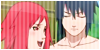 Badge: Sasuke x Karin by TheRedKunoichi
