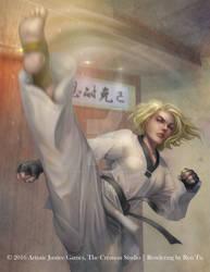Crescent Kick (Taekwondo Set) by Raines-Tu
