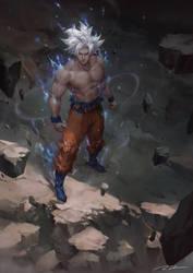 Ultra Instinct Goku by Raines-Tu